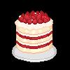 Strawberry Birthday Shortcake