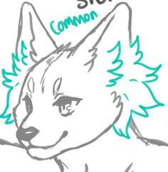 Medium-short Ear Fur